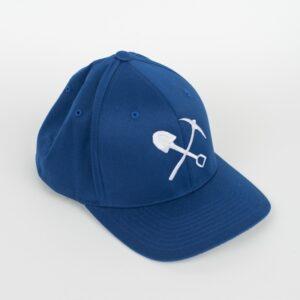 """Casquette """"Flexfit"""" bleue"""