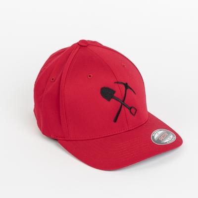 Casquette flexfit rouge