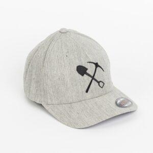Casquette flexfit grise chêne