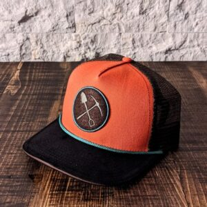 Calotte orange/brune Prospecteur