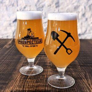 """Verre à bière Prospecteur """"Hostellerie"""" 16oz"""